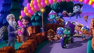 Super Mini Monstres et la fête du printemps
