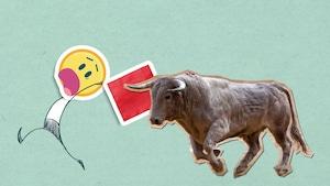 Est-ce vrai que la couleur rouge énerve les taureaux?