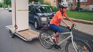 Activité : Déménager à vélo