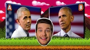 Barack Obama et les girafes