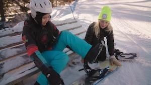 Recyclage, planche à neige et bonnes manières
