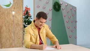 Écrire sa liste de cadeaux