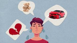 Pourquoi pleure-t-on quand on est triste ou qu'on a mal?