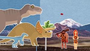 Les humains et les dinosaures ont-ils déjà vécu ensemble?