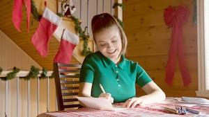 Écrire des cartes de vœux