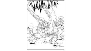 Activit s - Coloriage hawaienne ...