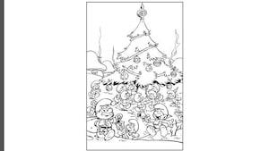 Coloriage - Noël