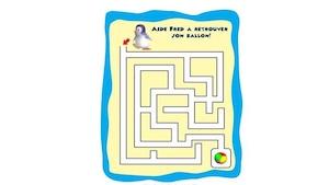 Labyrinthe Ozie Boo