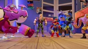 Axel et les Power Players