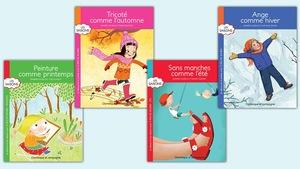 Image illustrant les quatre couvertures des livres mentionnés.