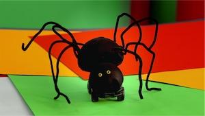 Tarantule repousse petite sœur