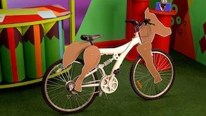 Le vélo-cheval