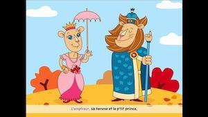 L'empereur, sa femme et le petit prince