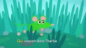 Une souris verte