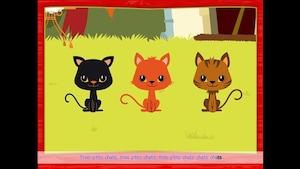 Trois p'tits chats