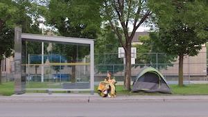 Attendre l'autobus