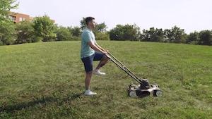 Tondre le gazon