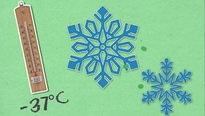 Deux flocons de neige peuvent-ils être identiques?