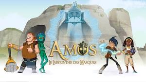 """Joue à """"Amos, le labyrinthe des masques"""" avec Amos, chasseur de masques"""
