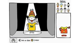 """Joue à """"Habille Léon"""" avec Léon (ce jeu est en Flash)"""