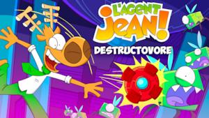 """Joue à """"Destructovore"""" avec L'Agent Jean"""