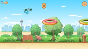 """Joue à """"Les sauts de Cam et Léon"""""""