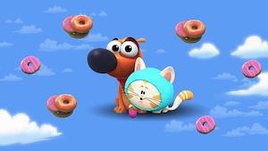 """Joue à """"Mega jump"""" avec Paf le chien"""