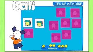 """Joue à """"Bali - Jeu de mémoire"""" (ce jeu est en Flash)"""