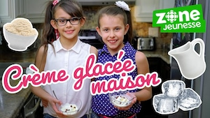 Crème glacée maison