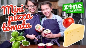 Mini pizza tomata