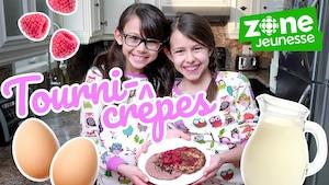 Elles cuisinent des crêpes