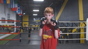 Adam Yassine, amoureux des arts martiaux mixtes