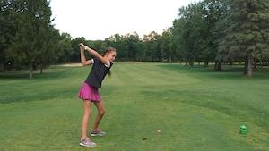 Charlotte Boudreau aime les défis au golf