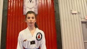 Mia Savard, le taekwondo, une affaire de famille