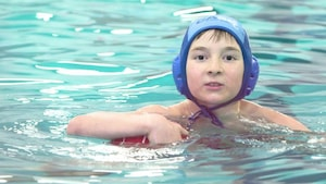 Slavek Couture-Zikovsky, de la natation au water-polo