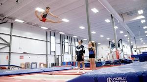 Activité : Le trampoline