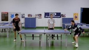 Activité : Tennis de table