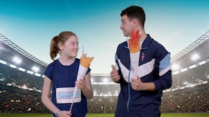 Activité : La flamme olympique