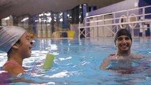 Activité : La nage artistique