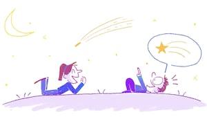 C'est quoi une étoile filante?