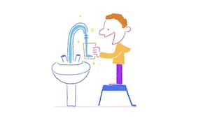 D'où vient l'eau du robinet?