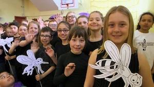 Ici et ailleurs - École Sacré-Cœur