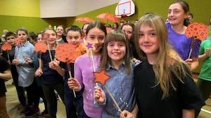 Du bonheur dans les étoiles - École de la Chanterelle