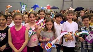 Papillon - École de la Mosaïque