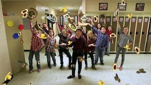 Les violons d'Acadie - École MGR-Martin