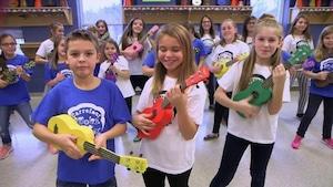 Les violons d'Acadie - Carrefour de la jeunesse