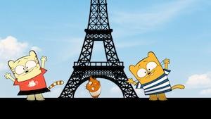 Un cochon d'Inde à Paris