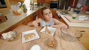 Pâte à modeler mangeable