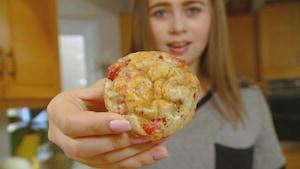 Muffins à la pizza