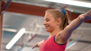 Rébéka Groulx, la passion de la gymnastique